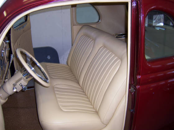 1936 Ford Rivertown Upholstery
